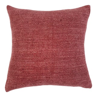"""Hendrick 20"""" Pillow with Insert in Berry For Sale"""