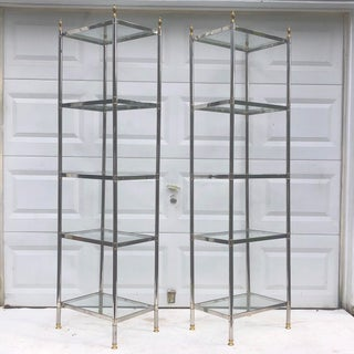 Vintage Modern Etagere Bookcase Preview
