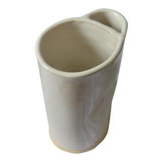 White Organic Modern Vase