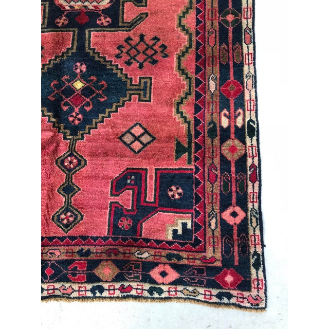 "Vintage Persian Rug - 4'4"" x 8' - Image 6 of 7"