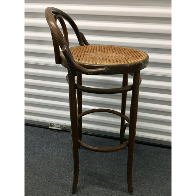 Vintage Salvatore Leone Bentwood Bistro Chair For Sale In Chicago - Image 6 of 10