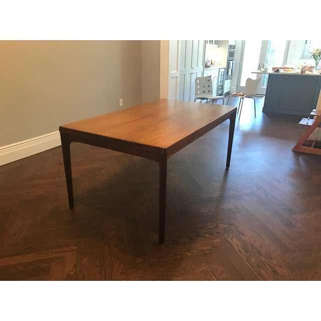 Danish Modern Dining Table with Two Leaves - Image 3 of 11