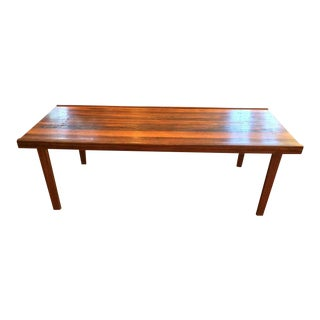 A.H. McIntosh Mid-Century Rosewood Coffee Table