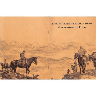 Abercrombie & Fitch The Blazed Trail 1958 For Sale