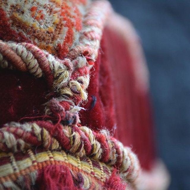 19th Century English Ebonised Carpet Stool For Sale - Image 12 of 13