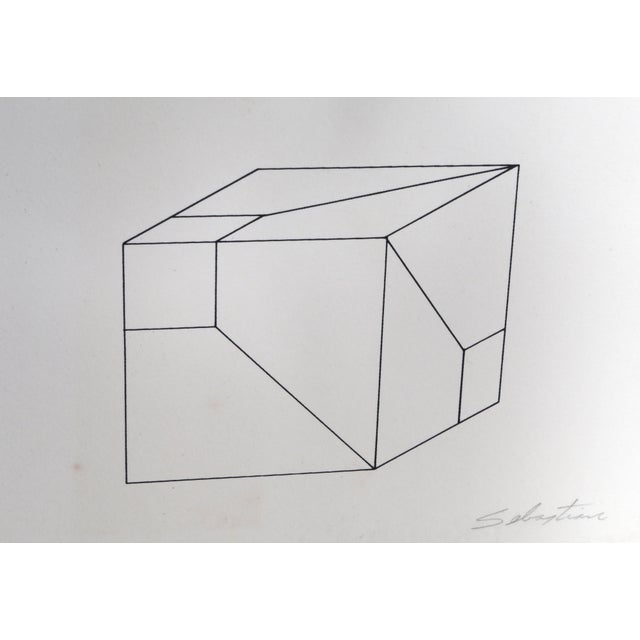 Artist: Enrique Carbajal Sebastian, Mexican (1947 - ) Title: Deconstrucción de Cubo Year: circa 1974 Medium: Screenprint,...