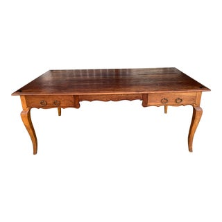 Vintage Rustic Table Writing Desk For Sale