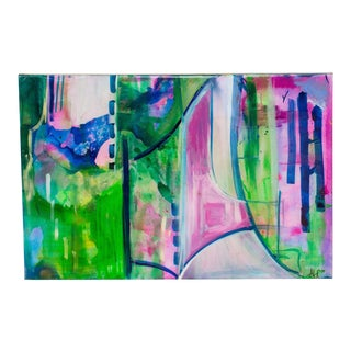 """""""The Waltz"""" Abstract Acrylic Painting by Abbi Custis For Sale"""