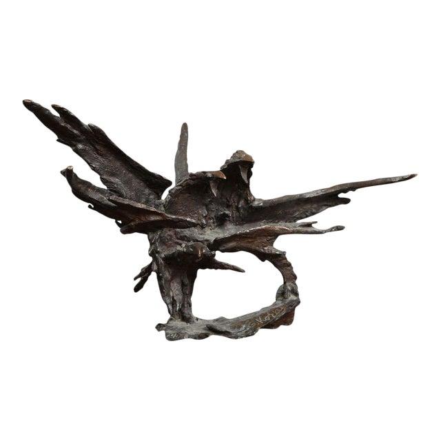 George Koras Ravens Sculpture - Image 1 of 8