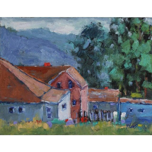 Original Oil Painting Landscape, Fort Bragg California For Sale - Image 12 of 13