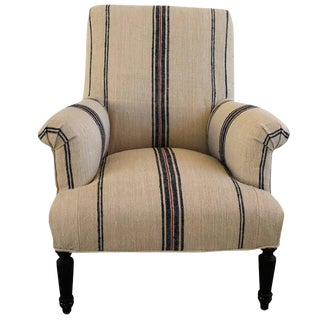 19th Century Napoleon III Fauteuil Armchair From France For Sale