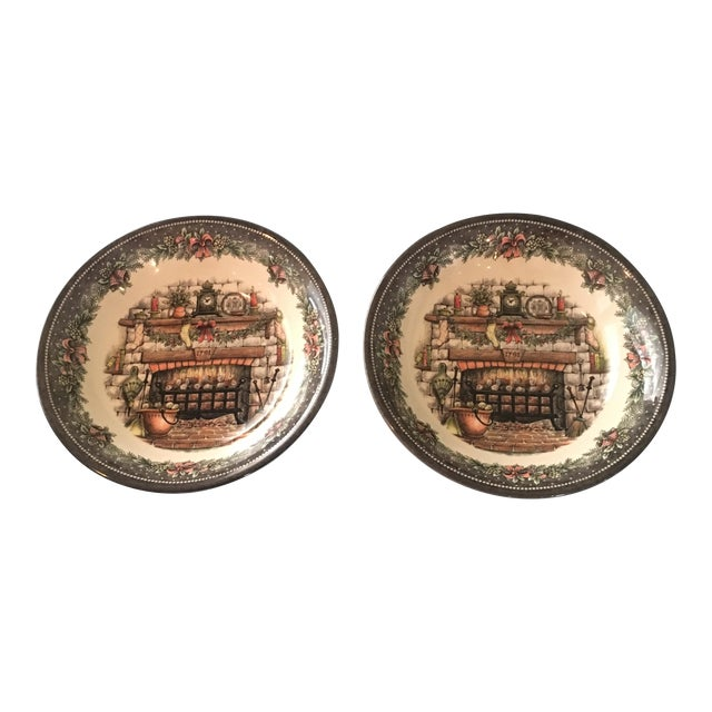 Vintage Holiday Royal Staffordshire Bowls - A Pair - Image 1 of 5