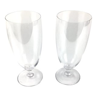 Marquis Waterford Contemporary Crystal Glasses - Set of 2 For Sale