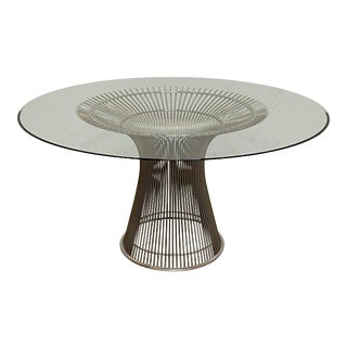 1960s Mid-Century Modern Platner Dining Table For Sale