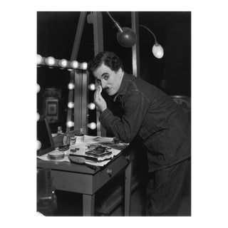 """Charlie Chaplin during the making of """"Modern Times"""" 1936 For Sale"""