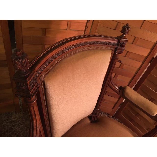 Louis XVI Style Armchairs - A Pair - Image 10 of 10