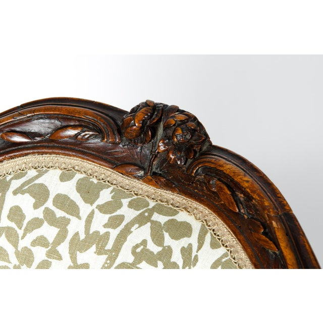 Early 19th Century Louis XVI Side Armchairs - a Pair For Sale - Image 9 of 13