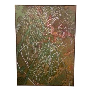 Large Lous Stecker Abstract Web Painting For Sale