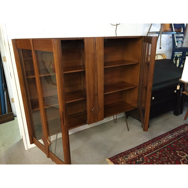 Mid Century Modern Cabinet on Hairpin Legs - Image 7 of 10