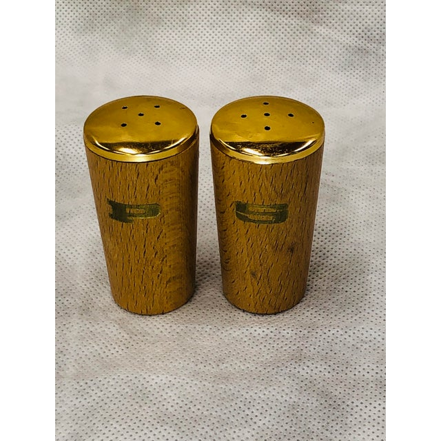 American Mid Century Salt and Pepper Shakers - a Pair For Sale - Image 3 of 6