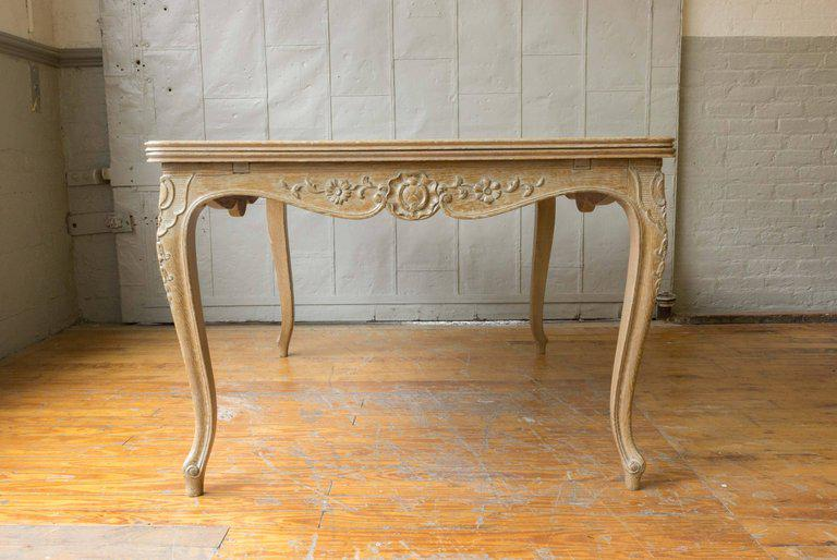 French Limed Oak Dining Table   Image 7 Of 11