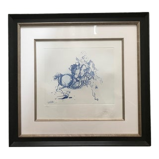Salvador Dali Limited Edition Lithograph For Sale