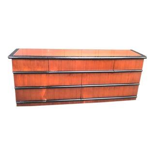 1970s Bernhardt Bullnose 7-Drawer Dresser For Sale