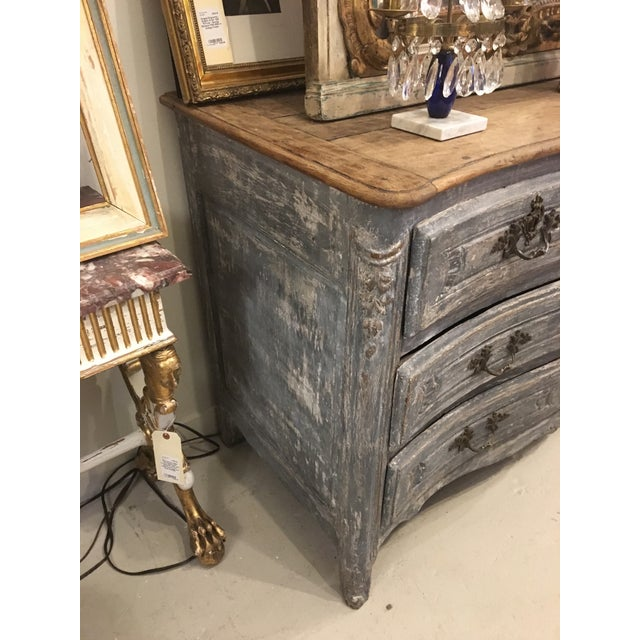 French French Painted Chest For Sale - Image 3 of 8