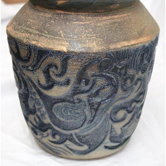 Vintage Large Art Vase, - Image 3 of 7