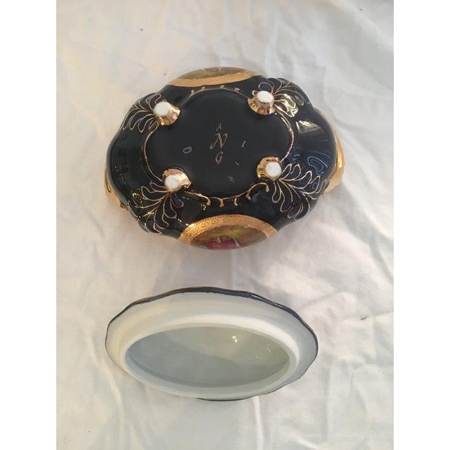 Antique Persian Porcelain Set of 8 For Sale - Image 12 of 13