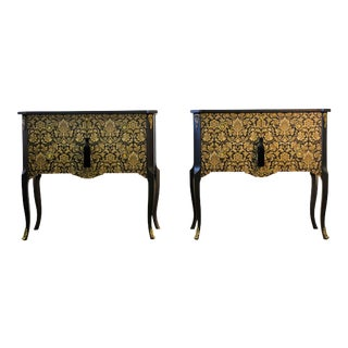 1940s Louis XV Style Chests - a Pair For Sale