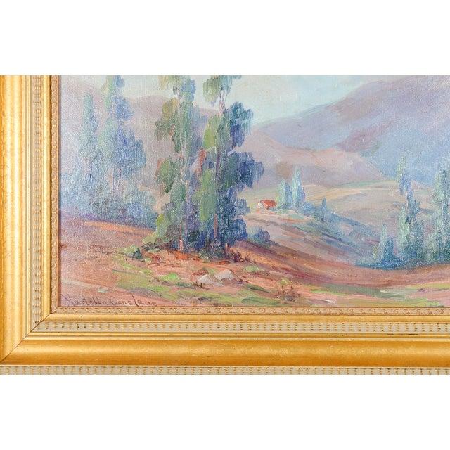 Children's Martella Cone Lane -California Landscape -Oil Painting -Impressionist C.1920s For Sale - Image 3 of 9