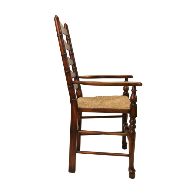 Ladder Back Arm Chair - Image 2 of 3
