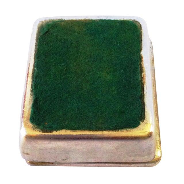 "Vintage Ben Seibel Silver ""Five of Diamonds"" Box - Image 5 of 5"