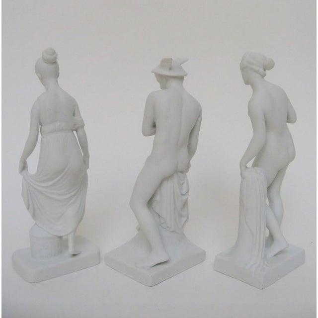 Bing & Grøndahl Bisque Figurines, Set of 3 For Sale In Los Angeles - Image 6 of 8