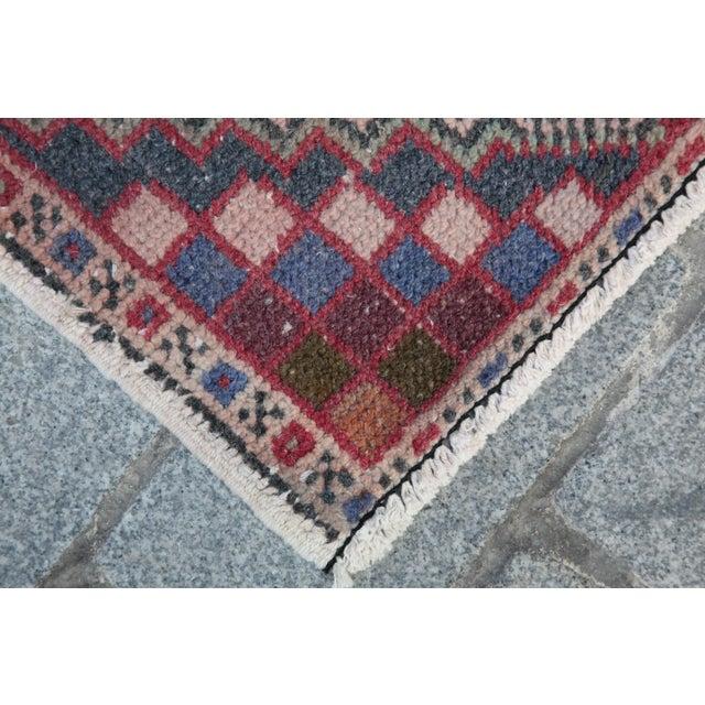 Turkish Nomadic Wool Carpet - 1′8″ × 2′10″ - Image 6 of 9