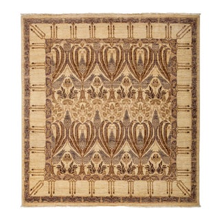 "Arts & Crafts, Hand Knotted Area Rug - 5'9"" X 6'3"" For Sale"