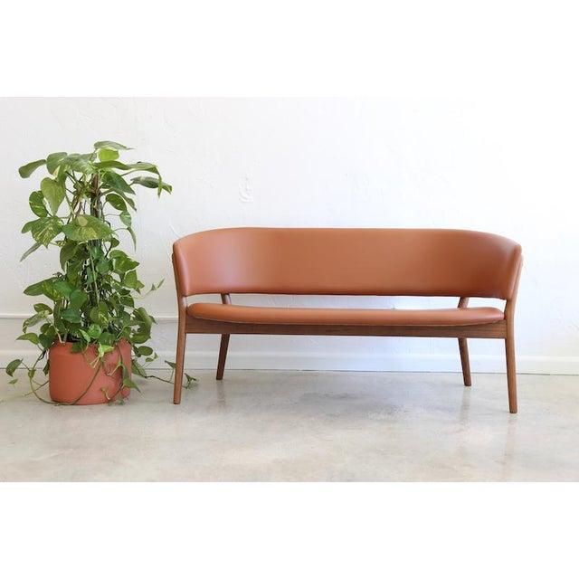 Mid-Century Danish Nanna Ditzel for Snedkergaarden Shell Sofa For Sale - Image 9 of 9