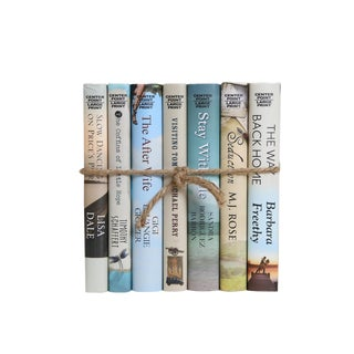 Modern Novels in Sand and Sea, S/7 For Sale