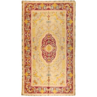 Antique Spanish Savonnerie Carpet For Sale