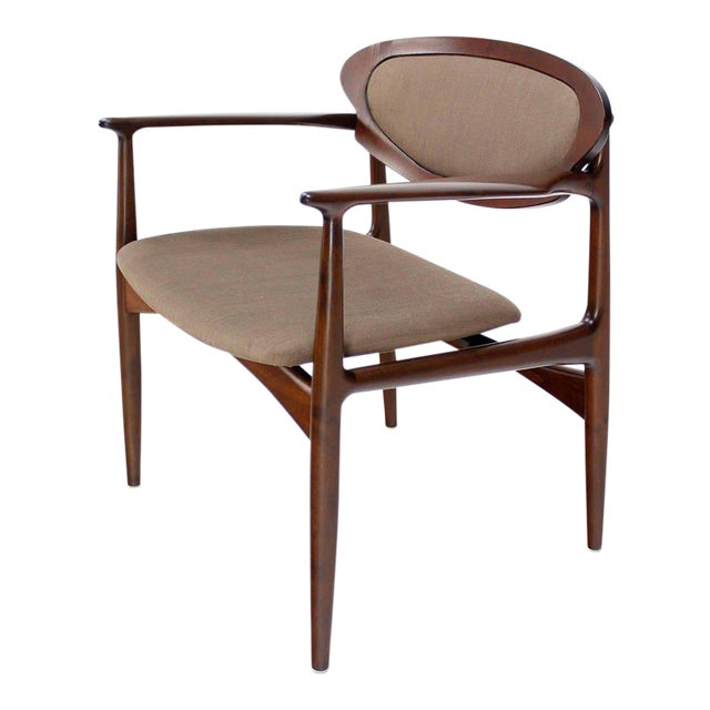Extra-Wide Mid-Century Danish Modern Lounge Chair by Selig For Sale