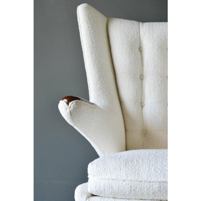 """1950s Hans Wegner Model Ap19 """"Papa Bear"""" Chair For Sale - Image 9 of 13"""