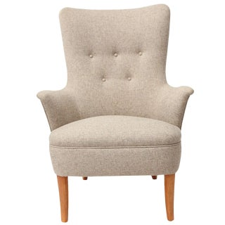 Carl Malmsten Lounge Chair For Sale