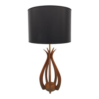 1960's Adrian Pearsall Sculptural Lamp For Sale