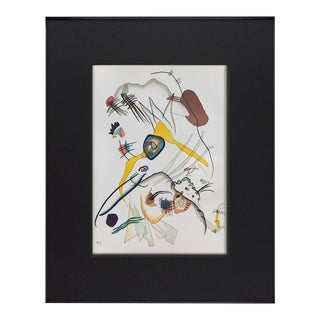 Wassily Kandinsky Lithograph Limited Ed. Original + Archival Framing For Sale