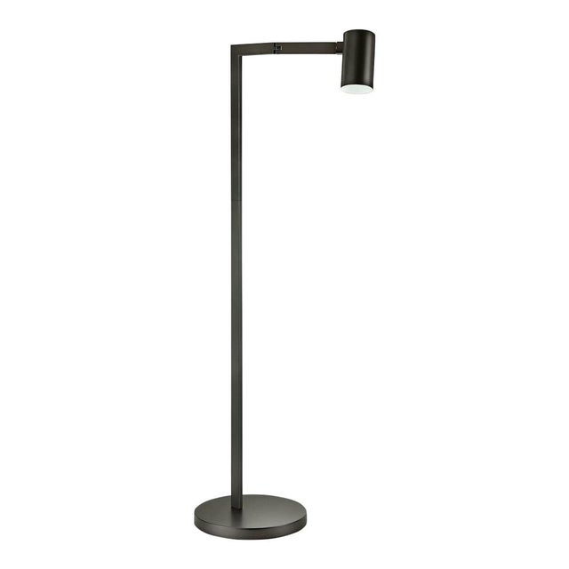 Not Yet Made - Made To Order Black Bronze Swing Reading Floor Lamp For Sale - Image 5 of 5