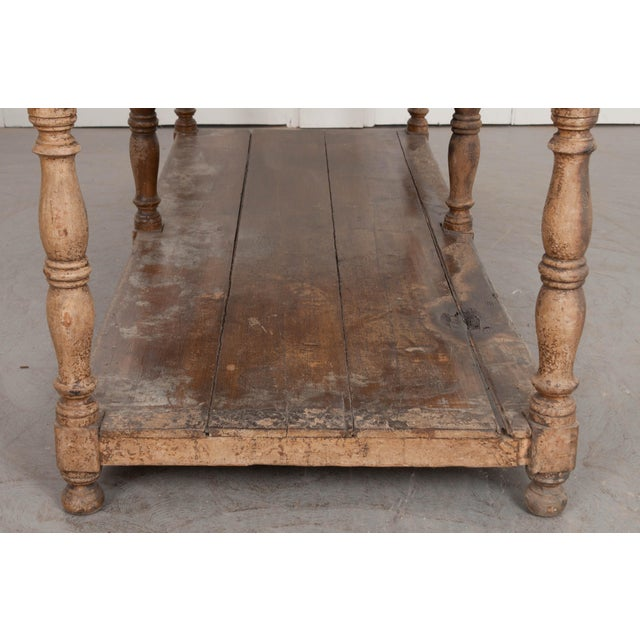 Paint French 19th Century Painted Drapery Table For Sale - Image 7 of 13