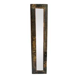 Vintage Mongolian Door Mirror Frame For Sale