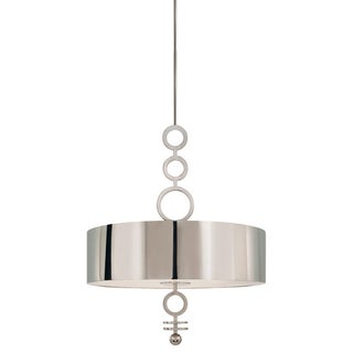 Brand New Polished Nickel 6 Light Pendant