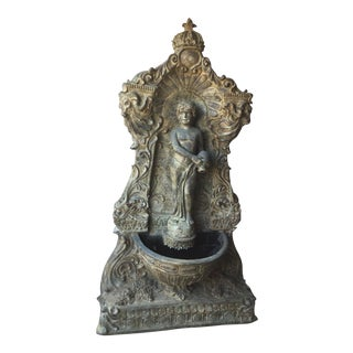 1900s Century Vintage Bronze Fountain For Sale